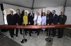 Barnes-Jewish West County Hospital unveils new facility to enhance quality care, patient experience