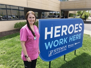 Radiation Therapist is a Health Care Hero